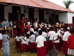 Rentrée des classes à farafangana Madagascar