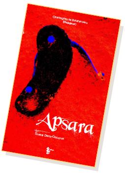 """Couverture du livre """"Apsara"""""""