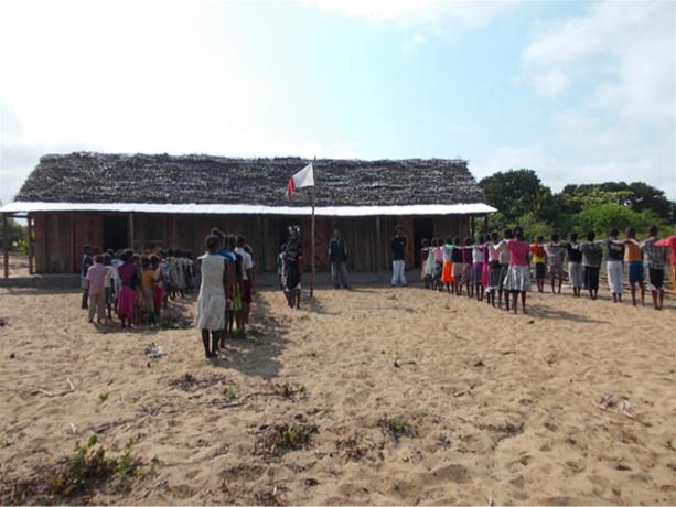 Ecole d'enfants à madagascar